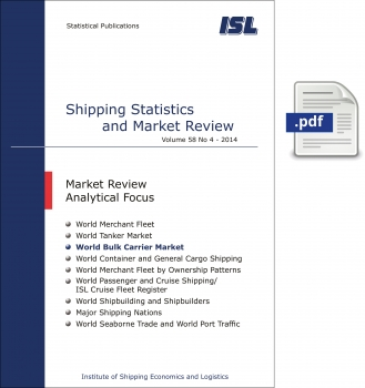 ISL Shipping Statistics and Market Review 2014 - Issue 4 [Digital]