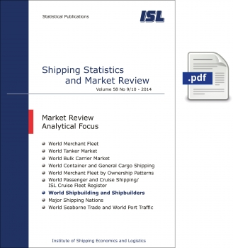 ISL Shipping Statistics and Market Review 2014 - Issue 9/10 [Digital]