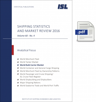 ISL Shipping Statistics and Market Review 2016 - Issue 4 [Digital]