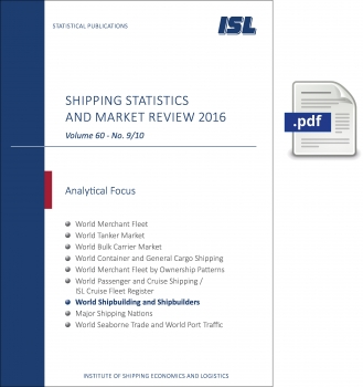 ISL Shipping Statistics and Market Review 2016 - Issue 9/10 [Digital]