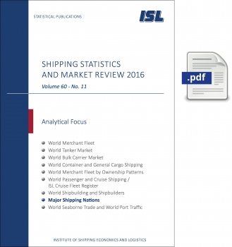 ISL Shipping Statistics and Market Review 2016 - Issue 11 [Digital]