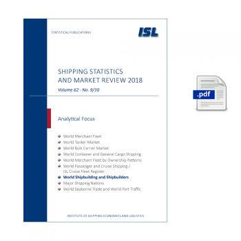 ISL Shipping Statistics and Market Review 2018 - Issue 9/10 [Digital]