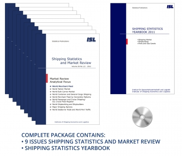 Package: ISL Shipping Statistics and Market Review 2012 + Shipping Statistics Yearbook 2011 [Print + CD]