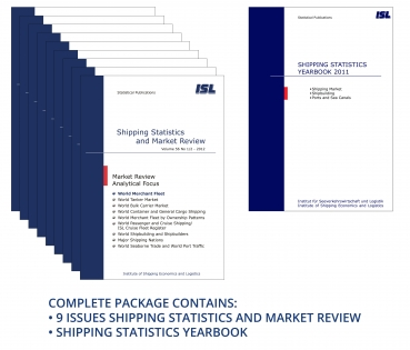 Package: ISL Shipping Statistics and Market Review 2012 + Shipping Statistics Yearbook 2011 [Print]