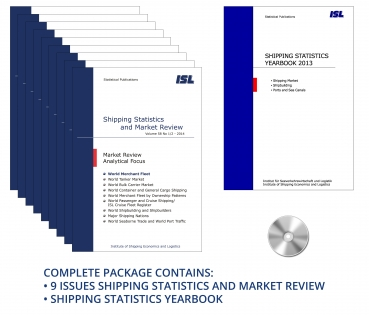 Package: ISL Shipping Statistics and Market Review 2014 + Shipping Statistics Yearbook 2013 [Print + CD]