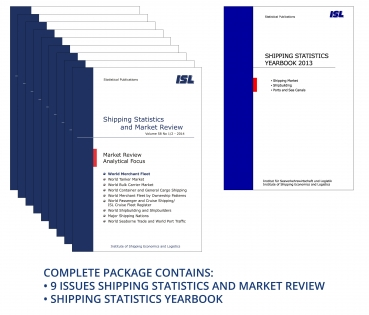 Package: ISL Shipping Statistics and Market Review 2014 + Shipping Statistics Yearbook 2013 [Print]