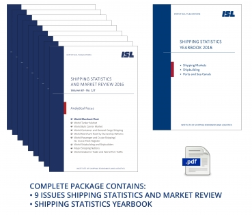 Package: ISL Shipping Statistics and Market Review 2016 + Shipping Statistics Yearbook 2015 [Digital]