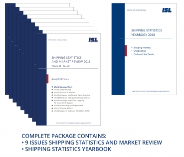 Package: ISL Shipping Statistics and Market Review 2016 + Shipping Statistics Yearbook 2015 [Print]