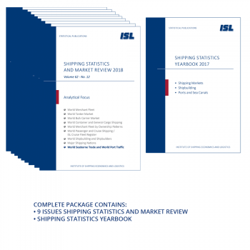 Package: ISL Shipping Statistics and Market Review 2019 + Shipping Statistics Yearbook 2018 [Print]
