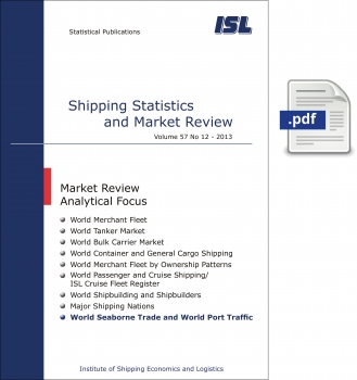 ISL Shipping Statistics and Market Review 2013 - Issue 12 [Digital]