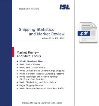 ISL Shipping Statistics and Market Review 2013 - Issue 1/2 [Digital]