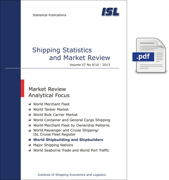 ISL Shipping Statistics and Market Review 2013 - Issue 9/10 [Digital]