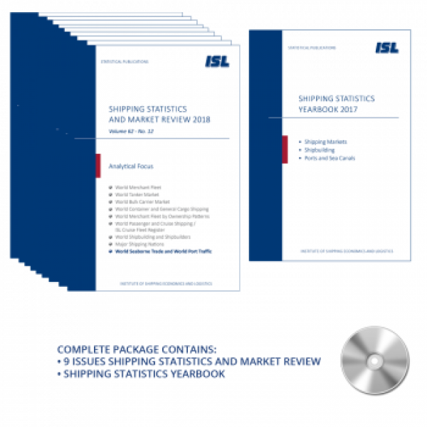 Package: ISL Shipping Statistics and Market Review 2019 + Shipping Statistics Yearbook 2018 [Print + CD]